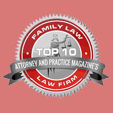 Top 10 2020 Family Law Award